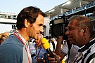 Roger Federer azt sem tudta, Rosberg vagy Hamilton autóját látja-e!