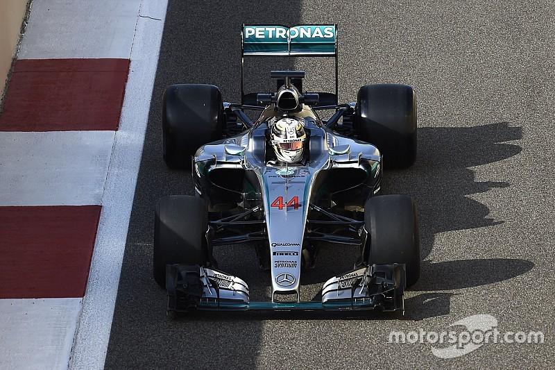 Indisposição tira Hamilton de teste em Abu Dhabi