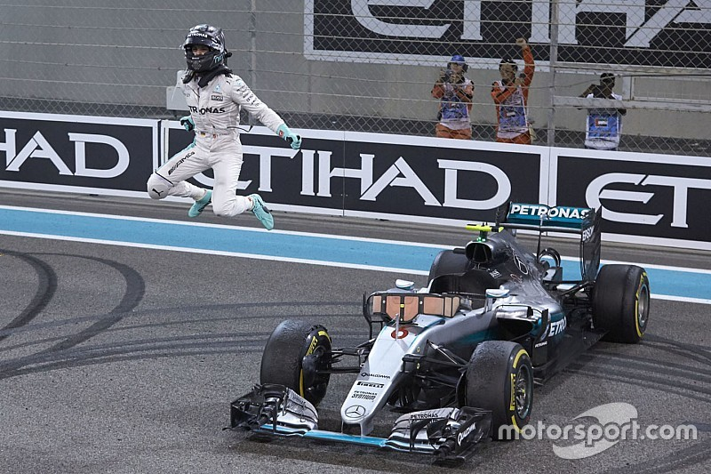 Todos los números de Nico Rosberg en la F1