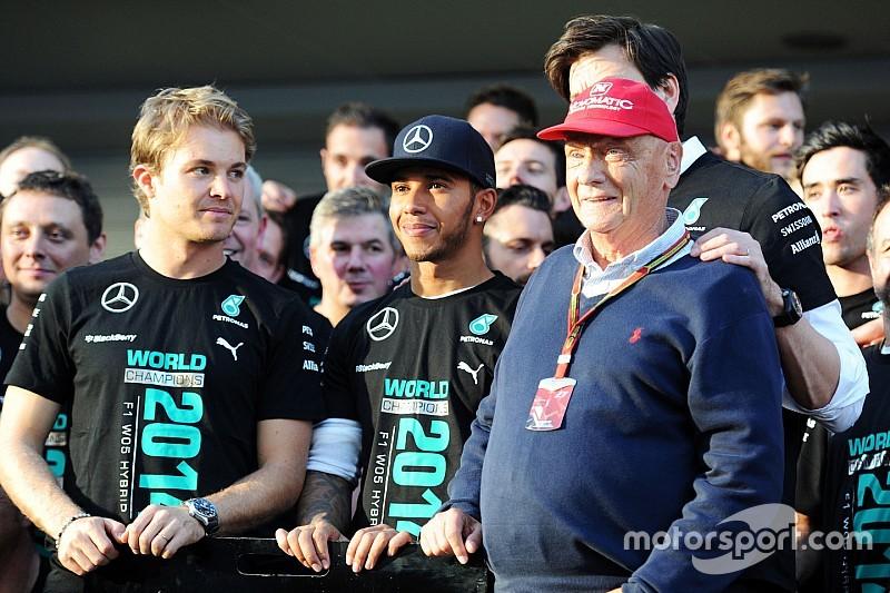 """Rosberg responde a Lauda: """"Creo que me ha malinterpretado"""""""