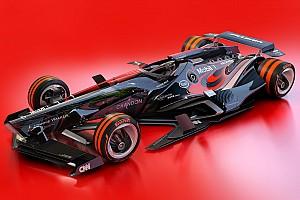 F1 Top List 图集:幻想F1之2030年概念设计—迈凯伦车队&红牛二队