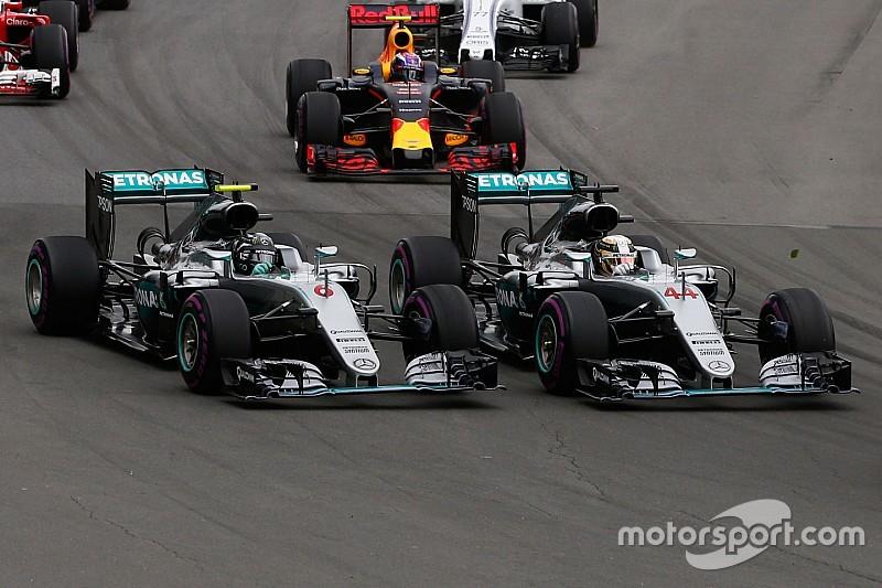 """Horner: """"Mercedes duidelijk favoriet voor de titel ondanks regelveranderingen"""""""