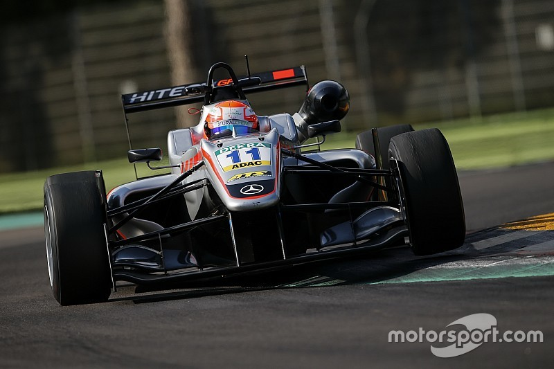 Mazepin, protegido de Force India, repetirá en la F3 europea