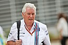 Formel-1-Team Williams trennt sich von Technikchef Pat Symonds