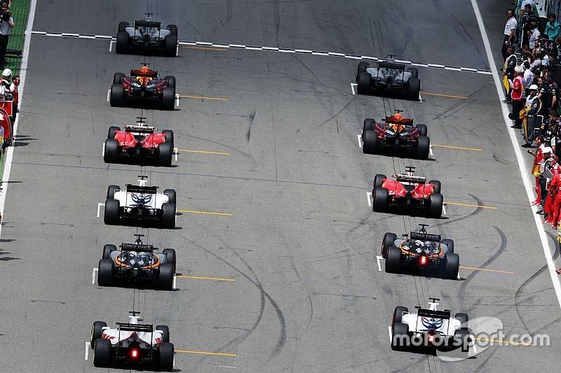 Суперстартова решітка Формули 1 2016 року