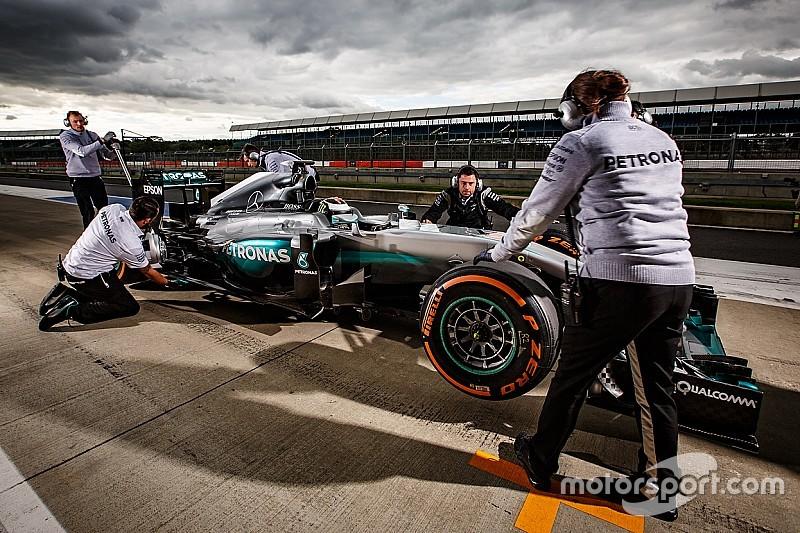 Mercedes F1-test voor Valentino Rossi en Sébastien Ogier ligt in het verschiet
