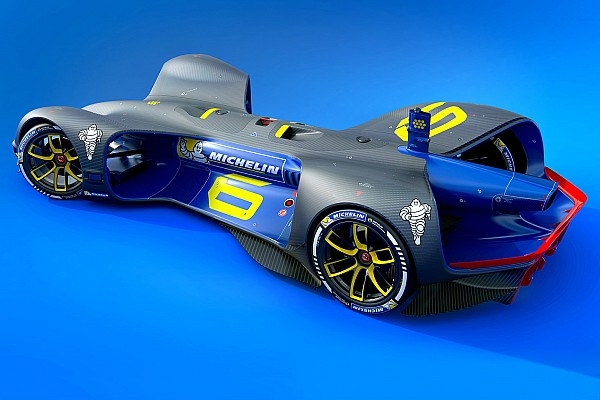 Michelin, insansız yarış serisi Roborace'in lastik sponsoru oldu