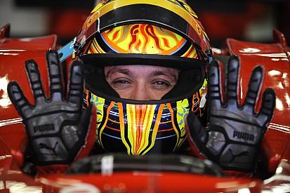 GALERÍA: Las pruebas de Valentino Rossi con el Ferrari de F1
