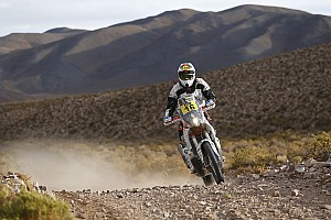 Dakar Breaking news Dakar rider struck by lightning during Stage 3