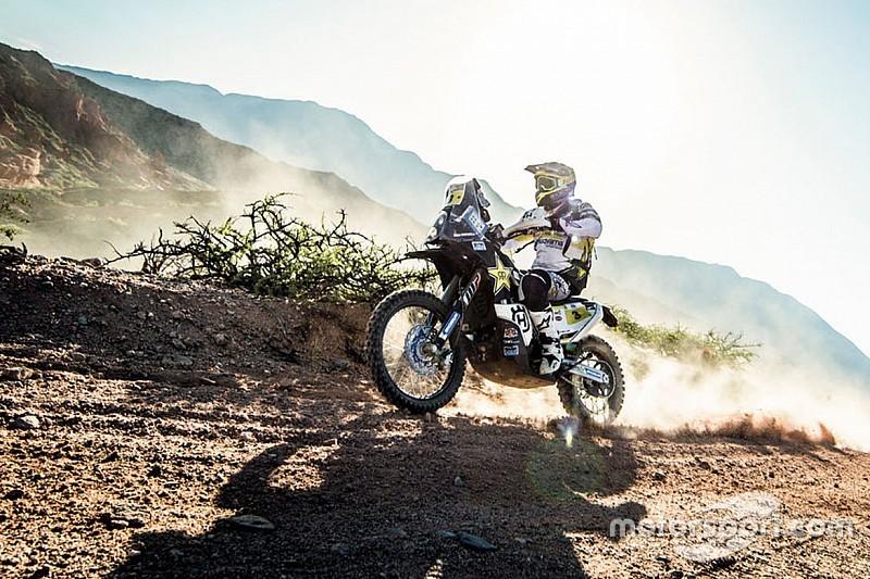 Pablo Quintanilla es el nuevo líder del Dakar
