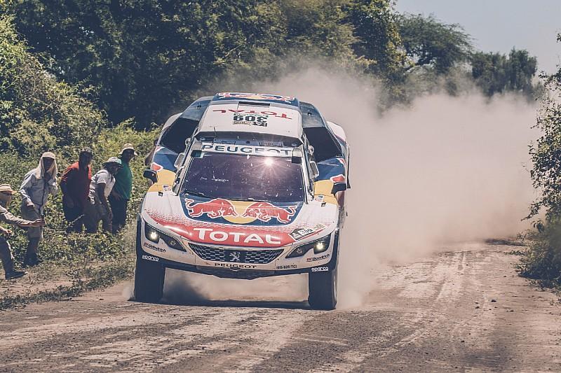 Дакар-2017, Етап 5: Peugeot 1-2-3