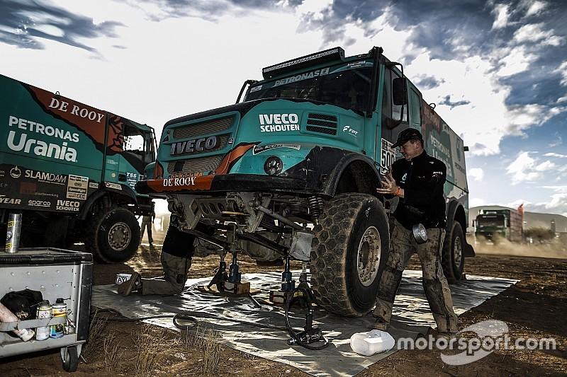Дакар-2017. Де Рой радий пройти крізь жахливі умови