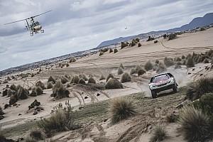 Dakar ステージレポート 【ダカール】第8ステージ、プジョー1-2-3位を占め、再びローブが首位