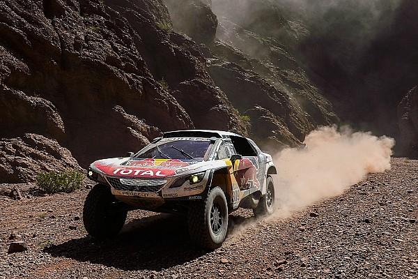Dakar Últimas notícias Loeb exalta aprendizado adquirido no Dakar de 2017
