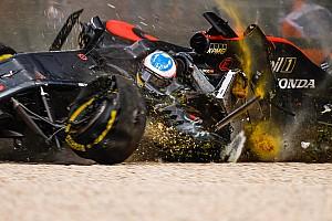 【F1】戦慄のアロンソ大クラッシュ、ハロがあったらどうなっていた?