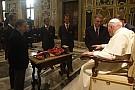 Heute vor 12 Jahren: Schumi und Ferrari besuchen den Papst