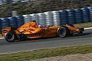 Formel 1 2006: Als McLaren in Orange testete