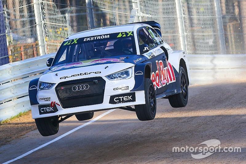 Ekström verzekert zich van fabriekssteun Audi voor WK Rallycross