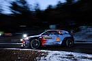 Rallye Monte Carlo: Crash von Hayden Paddon sorgt für Abbruch von WP 1