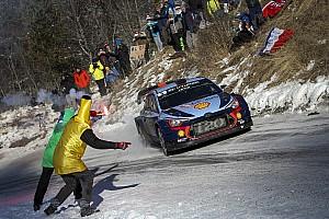 WRC Etap raporu Monte Carlo WRC: Ogier, Neuville'e yaklaşıyor, Evans parlamaya devam ediyor