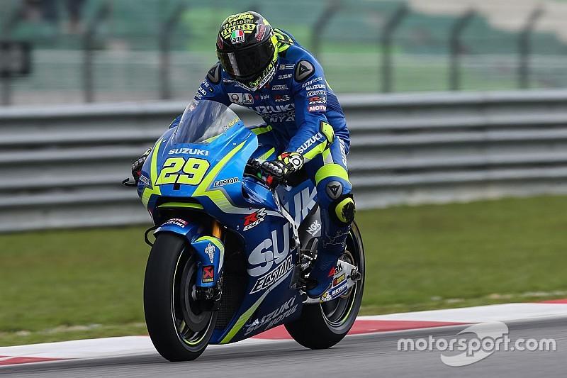 """Iannone: """"Aún no soy capaz de rodar al límite con la Suzuki"""""""