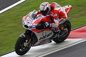 MotoGP Важливі новини Довіціозо: Відчуття позитивні, намагатимемося поліпшитись