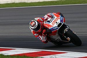 """MotoGP Noticias de última hora Lorenzo: """"Somos ya competitivos estando lejos de nuestro límite"""""""
