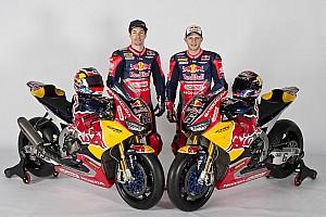 WSBK Actualités Honda dévoile sa Superbike aux couleurs de Red Bull