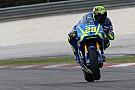 Iannone, entusiasmado con el chasis de la Suzuki