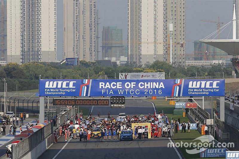 WTCC-Rennen in China vor Umzug von Shanghai nach Ningbo