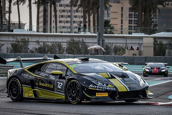 Lamborghini Super Trofeo Antonelli/Roda e Breukers/Jefferies aprono il Super Trofeo Middle East