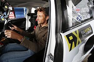 """World Rallycross Son dakika Murray Walker: Button Rallycross'da """"harika olur"""""""