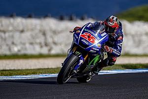MotoGP Отчет о тестах Виньялес показал лучшее время в третий день тестов на «Филлип-Айленде»