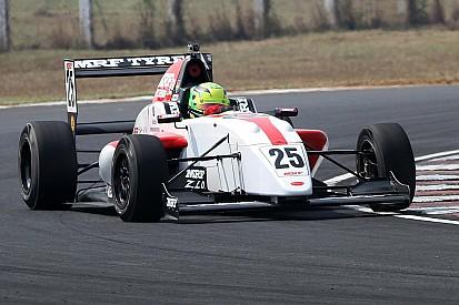 Newey fia nyert Indiában, Schumacher második