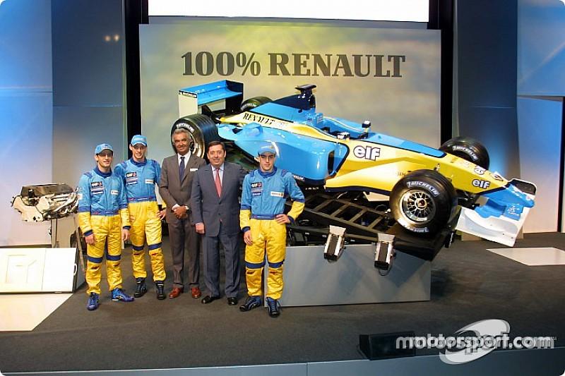 图集:雷诺F1车队历年新车发布会现场回顾