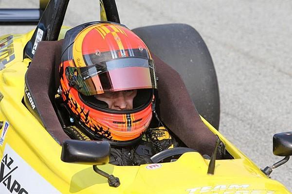 Ласточкин показал второе время на тестах Pro Mazda
