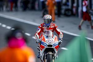 MotoGP Réactions Dovizioso calme le jeu et vise la première course de l'année