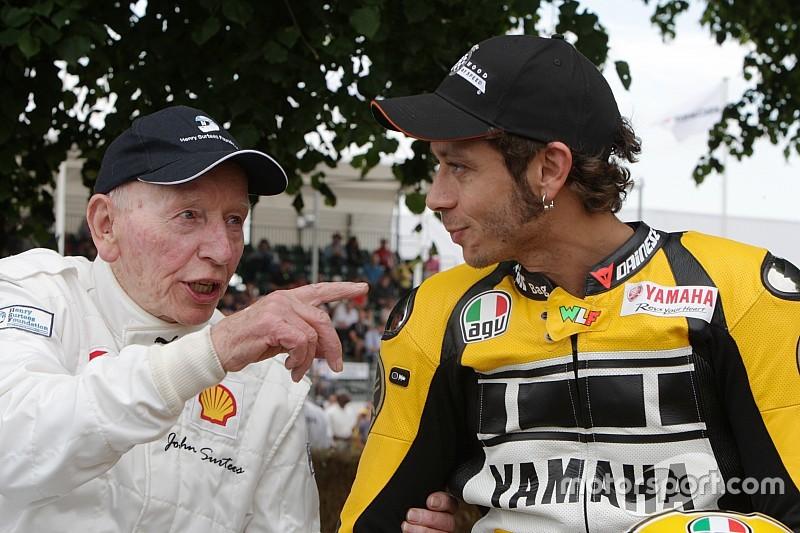 """Hamilton y Rossi despiden a John Surtees: """"Se va una leyenda"""""""