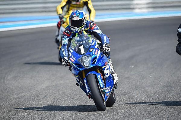 Miles de motociclistas despiden a Anthony Delhalle en Le Mans