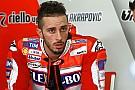 """Dovizioso: """"La Ducati hay que llevarla de forma distinta de como lo haceLorenzo"""""""