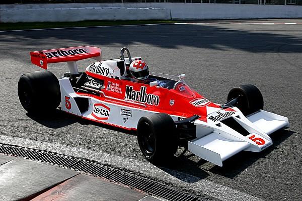 Formule 1 Actualités Jenson Button au volant d'une McLaren M23 à Laguna Seca