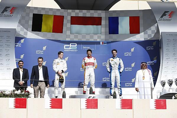 Kemenangan pertama Rio Haryanto di GP2
