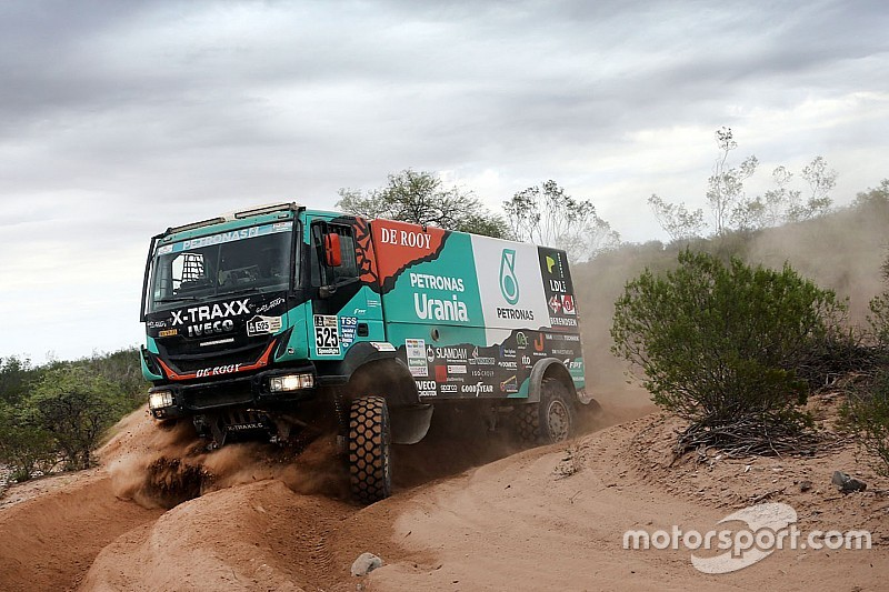 De Rooy no disputará el Dakar 2018