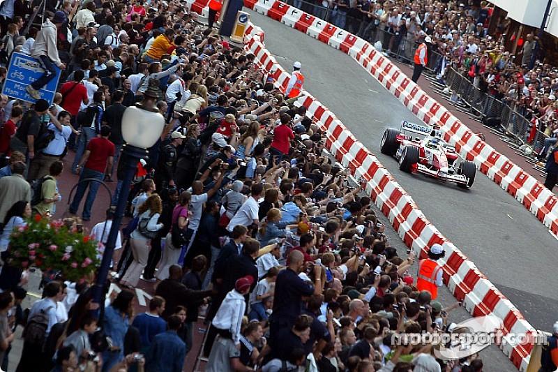 La F1 negocia una demostración en las calles de Londres