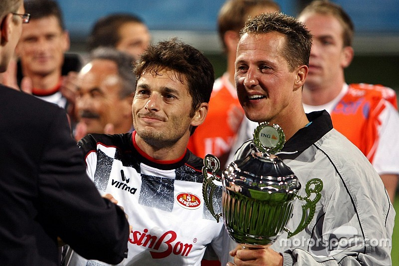 Schumacher recibirá un homenaje en un partido de fútbol benéfico
