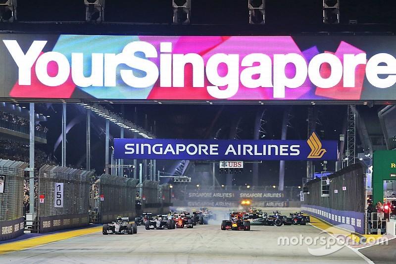 F1 akui tak ingin kehilangan GP Singapura
