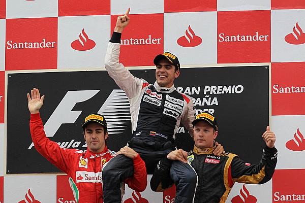 Ezen a napon: Maldonado a csúcson