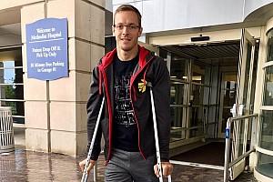 IndyCar Últimas notícias Bourdais recebe alta de hospital e volta para casa