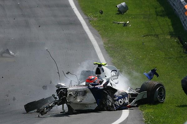 GALERÍA: a 10 años del fuerte accidente de Robert Kubica en Montreal