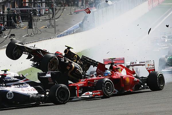 Formule 1 Actualités Massa compare à son tour l'accident de Sainz à Spa 2012